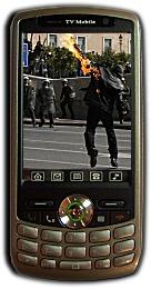 V98 Κινητό με τηλεόραση & υποδοχή για 2 SIM